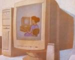 praca - malowidło
